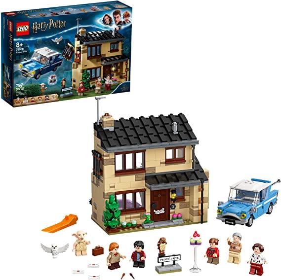 Lego Harry Potter 4 Privet Drive 75968 Fun Children S Building Toy For Kids Who Love Harry Pott Lego Harry Potter Building Toys For Kids Kids Toys