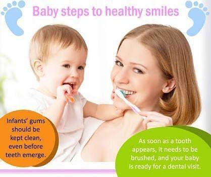 KDC baby dental care advice #dentalcareadvice #oralcareadvice #dentalcare