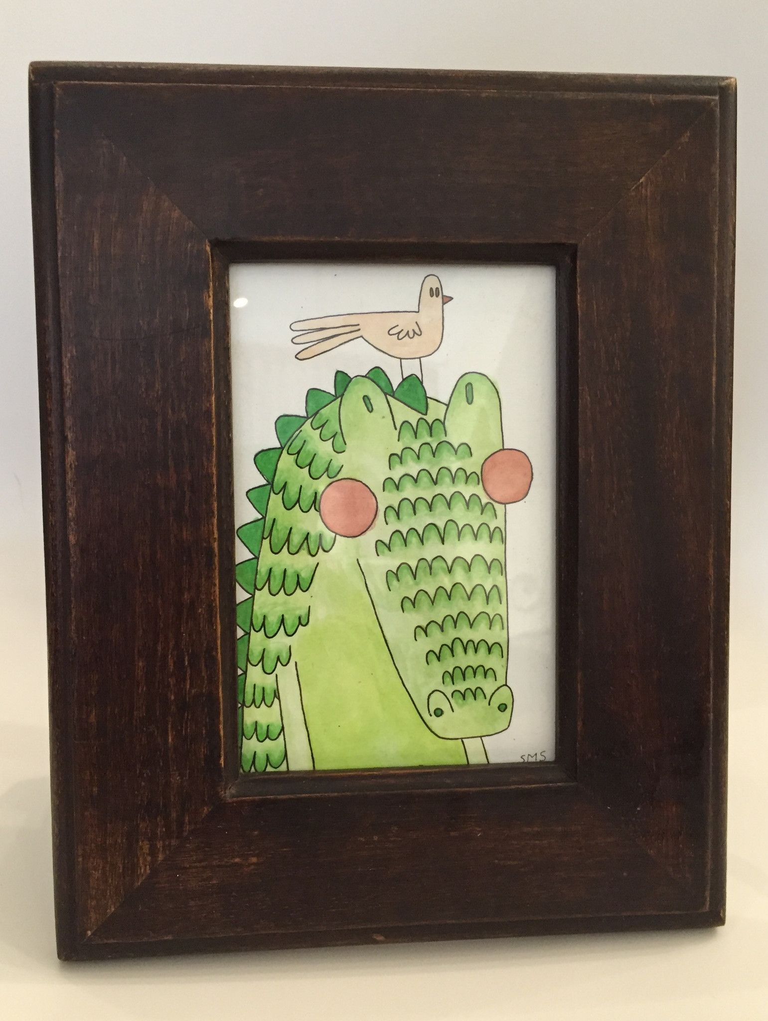 "SMS Illustrations ""Later Gator"" Original Painting"