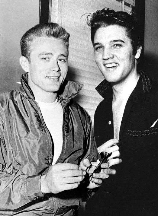 James Dean & Elvis Presley #hollywoodmen