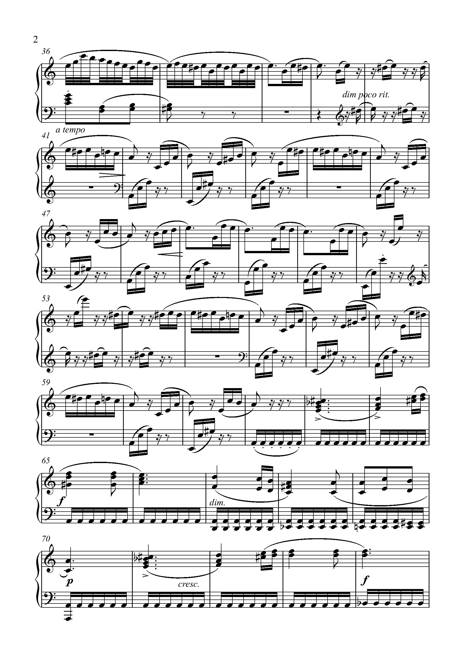 Beethoven Fur Elise Original Sheet Music For Piano 8notes Com Sheet Music Piano Sheet Music Piano [ 2631 x 1863 Pixel ]