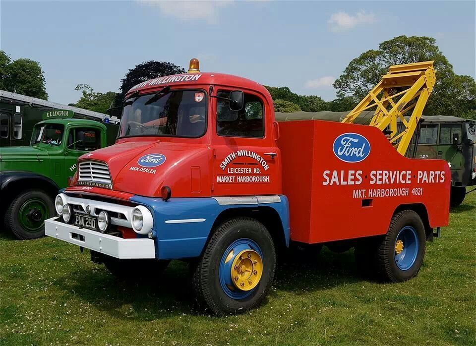 Thames trader | Wreckers, RollBacks, and CarHaulers | Pinterest ...