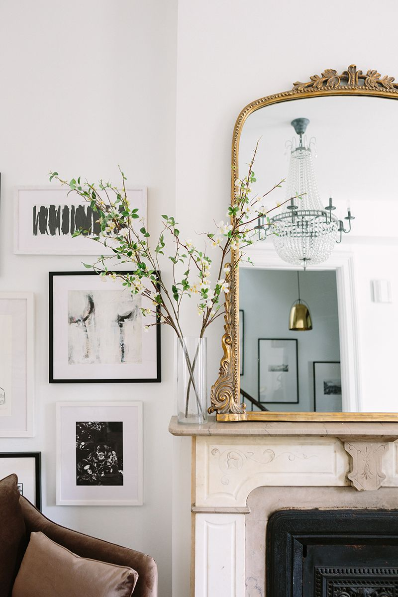 A Gorgeous Parisian Inspired Apartment In Chicago. French Inspired Living  Room Decor