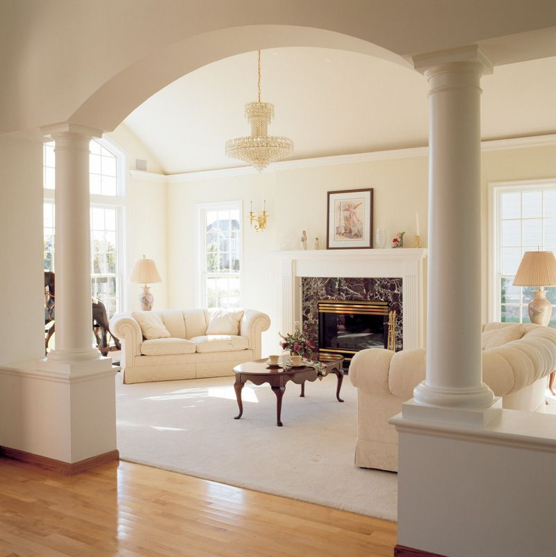 Photo of Sunny Living Room decor   Plan 038D-0086   House Plans and More