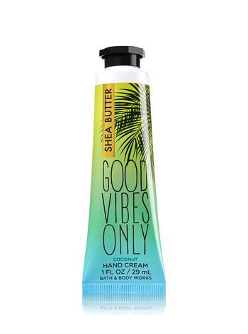 Good Vibes Only Hand Cream Bath And Body Works Bath N Body Works Bath And Body