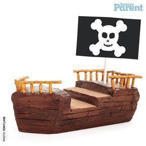 Kids birthday cake ideas Pirate ship Pirate ships Pirate ship