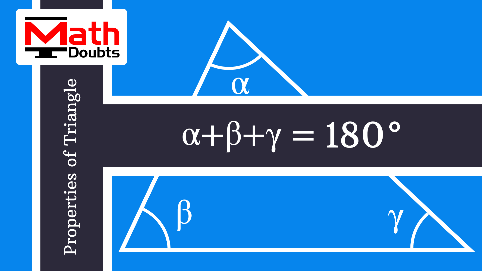 Learn How To Prove Summation Of All Three Interior Angles
