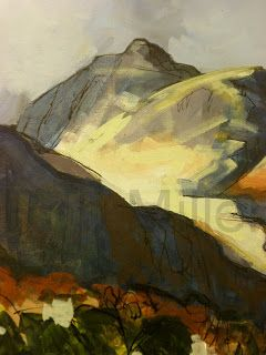 Cumbria Painting Painting Drawing Abstract Landscape