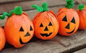 Imagenes Piñatas De Calabaza Buscar Con Google Healthy Halloween Halloween Treats For Kids Fun Halloween Crafts