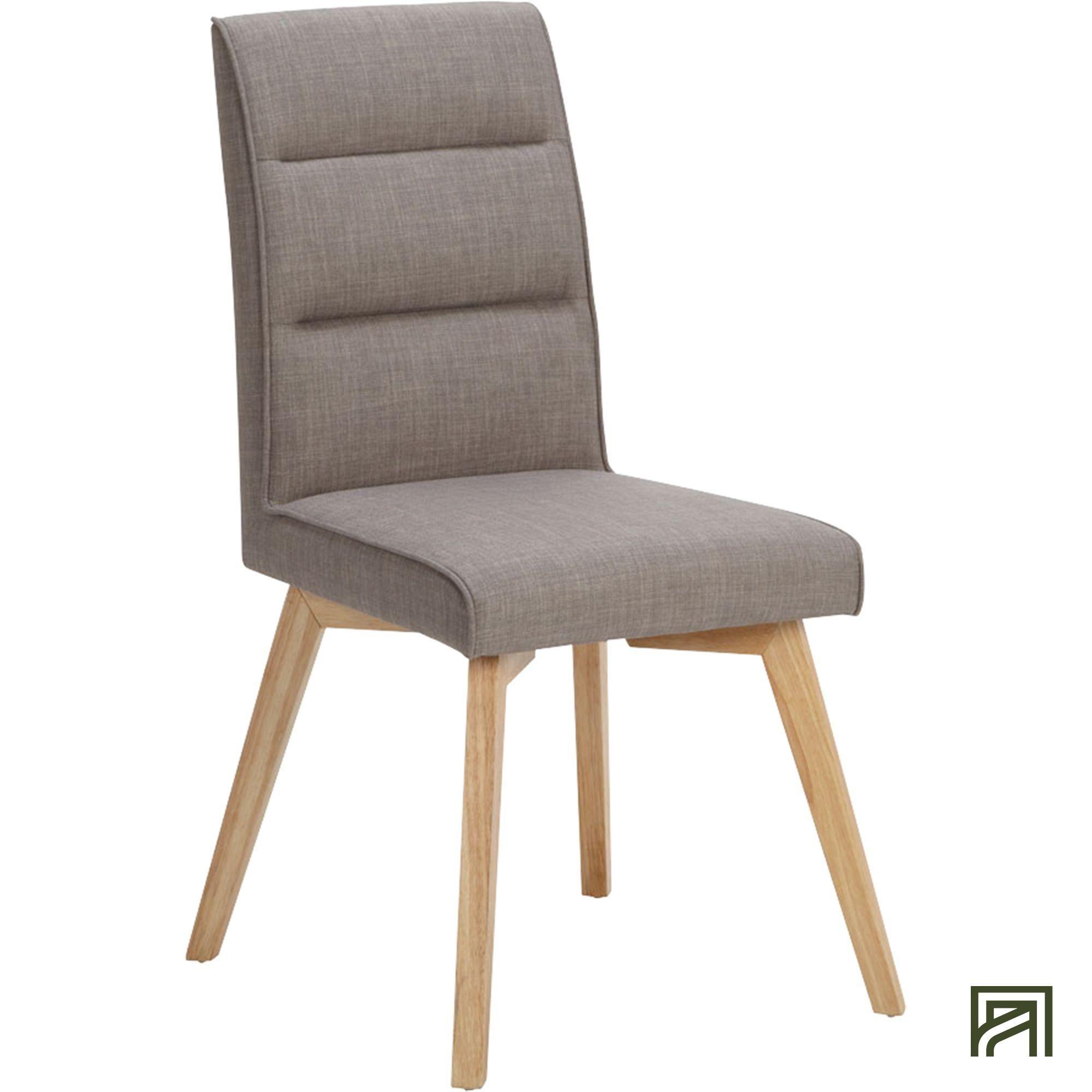 alinea : nestor chaise dossier haut en tissu taupe #Alinea