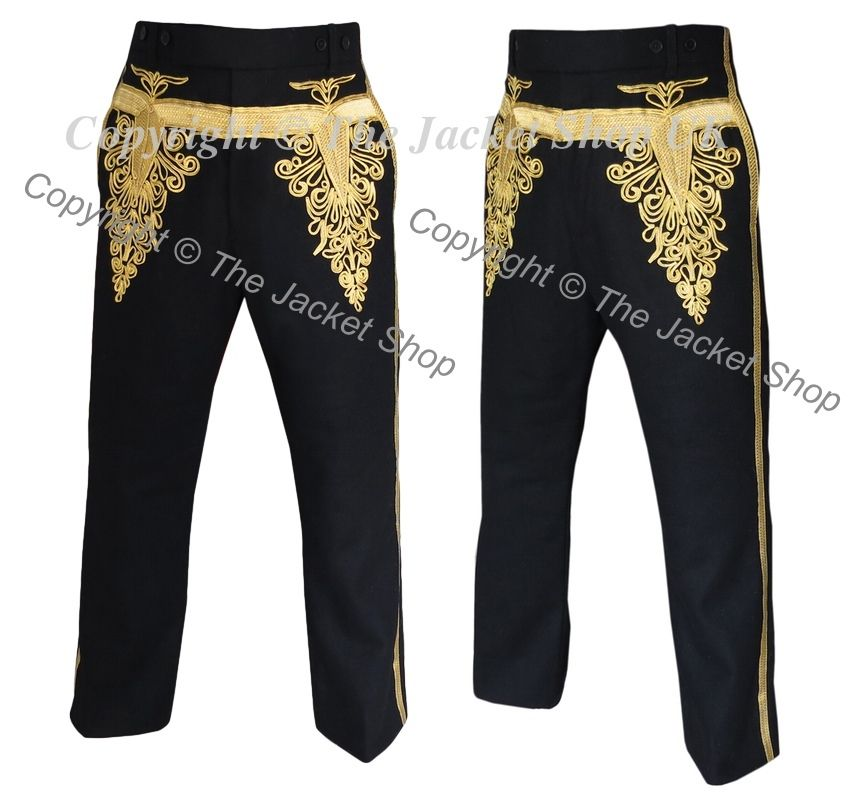 Hussars Embroidered Military Trousers Materials: Highest Quality British  Melton Wool, supplied by UK Military