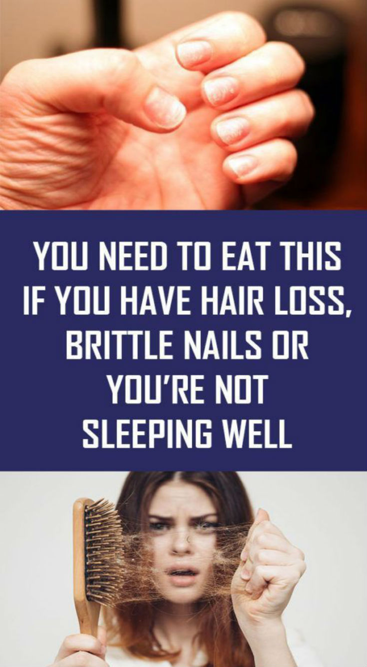 YOU NEED TO EAT THIS IF YOU HAVE HAIR LOSS, BRITTLE NAILS OR YOU'RE…