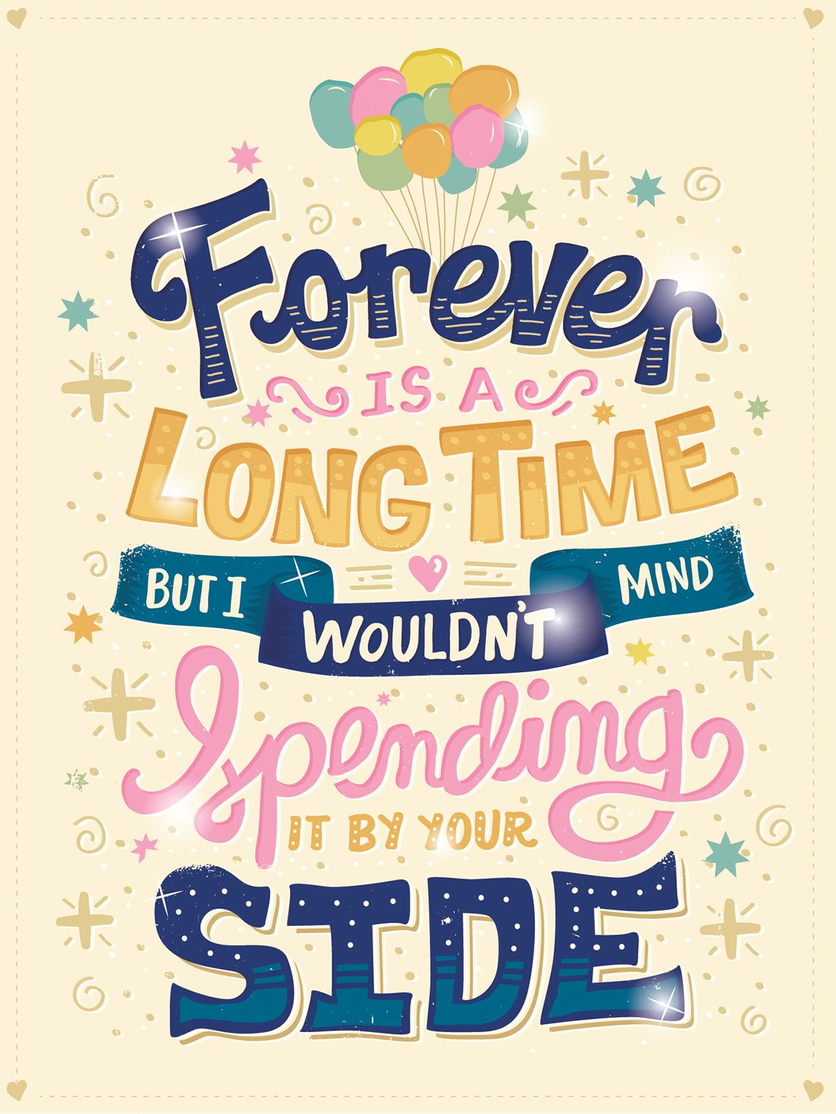 Recent Inspirational Quotes Recent Lettering Posters On Behance  Typography  Pinterest