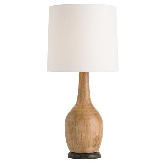 Hand Turned Wood Table Lamp Table Lamp Wood Lamp Table Lamp