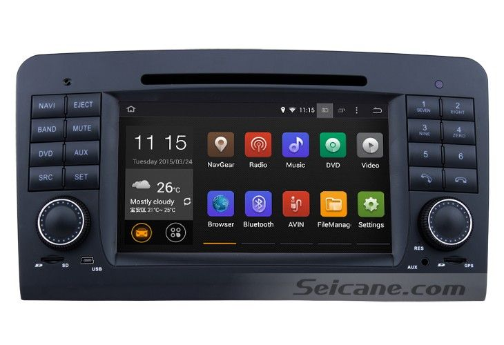 how to clean a 2005 2012 mercedes benz ml class w164 head unit with touch screen gps dvd player. Black Bedroom Furniture Sets. Home Design Ideas