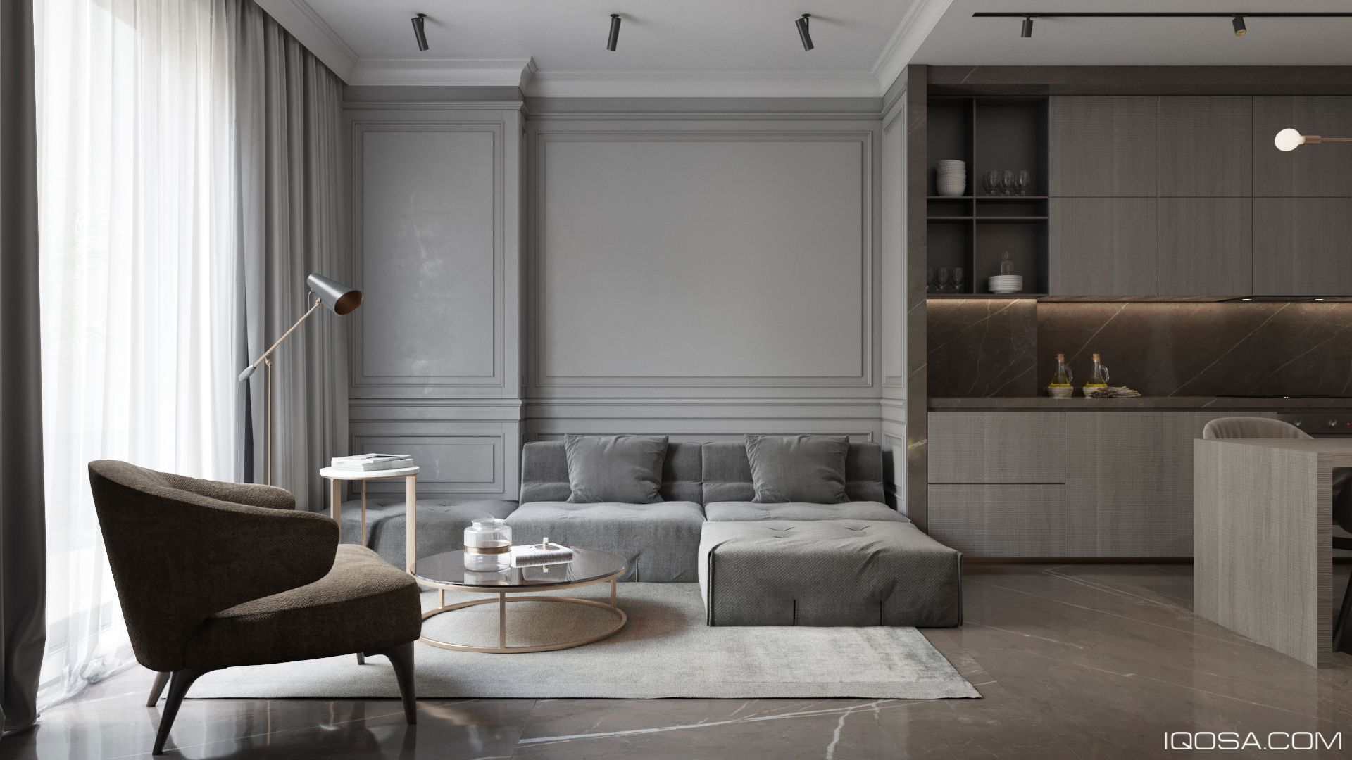 Modern Classic In Albania Interieur Wonen Huis