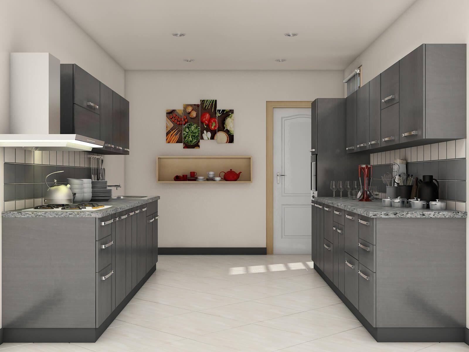 Modular Kitchen Design Ideas For Indian Homes   Parallel kitchen ...