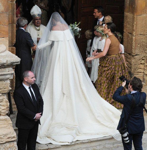 Все аристократы мира на свадьбе дочери герцога Веллингтона | Vogue Ukraine
