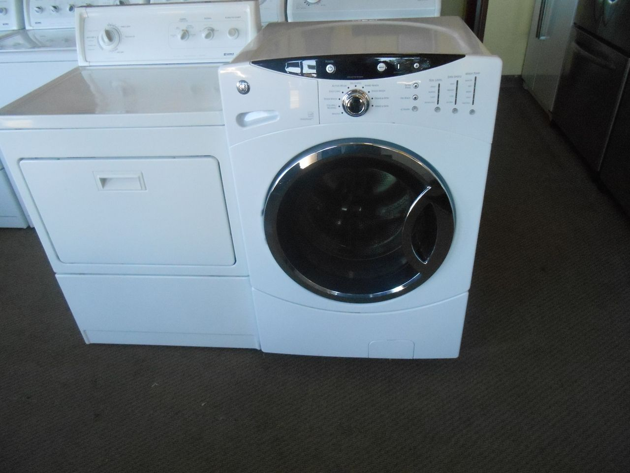 Pin by Appliance City on FRONT LOAD WASHER | Front load