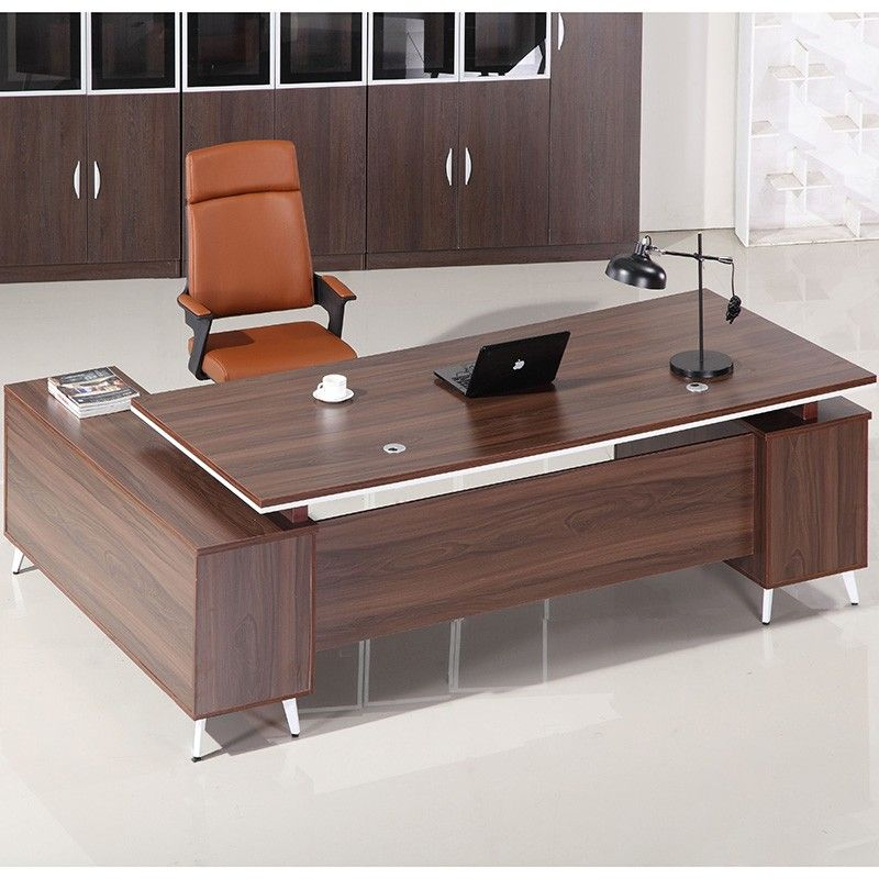Cheap Price Factory Direct Boss Office Furniture Set Cheap