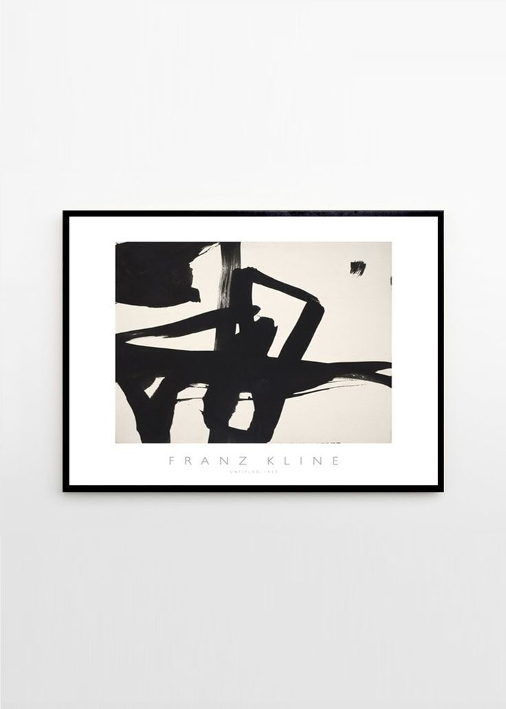 Franz Kline - Untitled 1950 Untitled 1950 by Franz Kline.Packed and shipped in a protective card board tube — Worldwide shipping.Frame is not included.Note: We do not offer matching frames to this print, it is not a standard size art print and needs to be custom framed. Where to buy minimal art. Curated posters and art prints from Copenhagen based The Poster Club. #artwall #picturewall #theposterclub #minimalart #artprint #poster #scandinavianliving