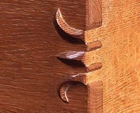 """""""claw"""" dovetails"""
