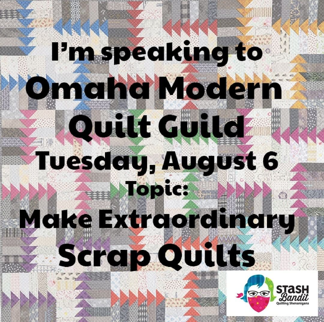 Make Extraordinary Scrap Quilts At Omaha Modern Qg Tuesday Aug 6 At Sew Creative 2809 S Embroidery For Beginners Crocheted Fox Pattern Embroidery Patterns