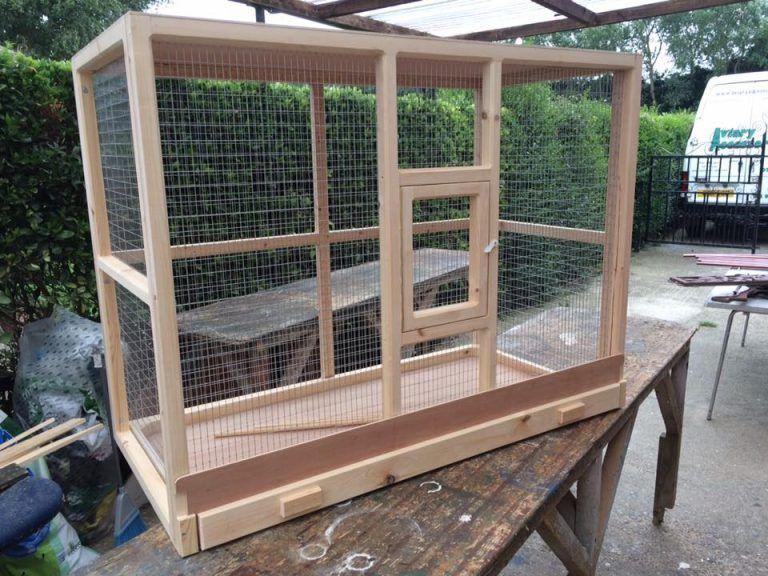 Custom Made Indoor Mini Aviaries Pet bird cage, Bird aviary