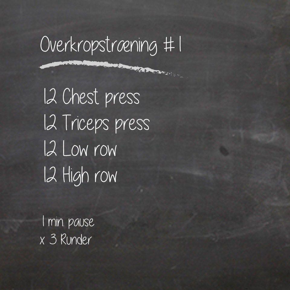 Overkropstræning i TRX, med øvelser for både bryst, skuldre, arme og ryg. Et kort og effektivt træningsprogram, for alleniveauer. Hent programmet her➔