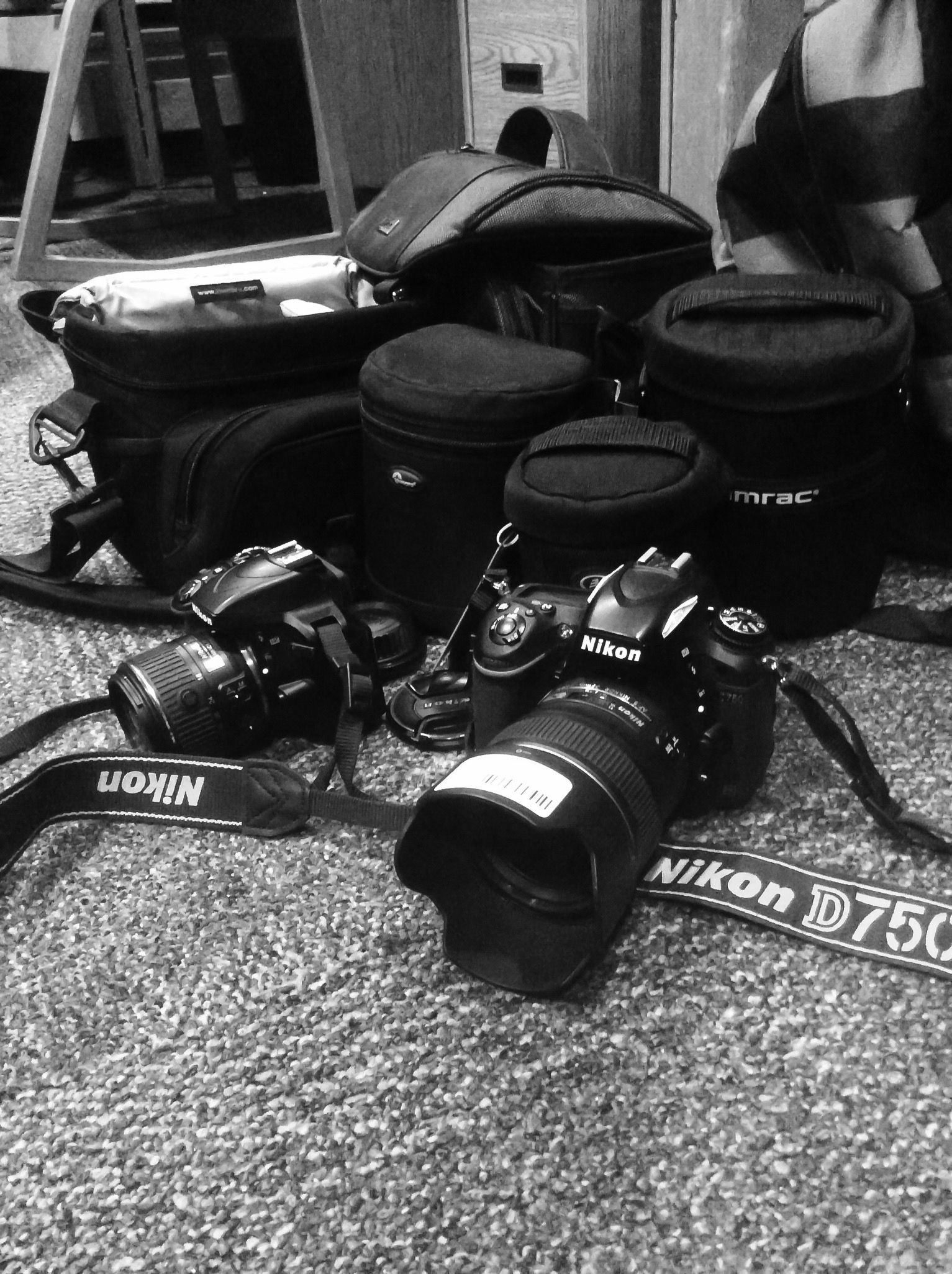 Nikon D3300 and Nikon D750 Cameras! Man I love photography