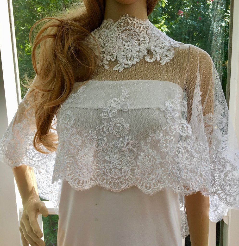 Bridal bolero jacket wedding shawl wrap coverup wedding jewelry