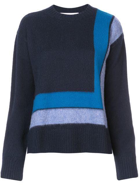 230483b02b Derek Lam 10 Crosby Crewneck Blanket Sweater