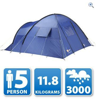 Hi Gear Windermere 5 Tent   GO Outdoors   camping   6 man