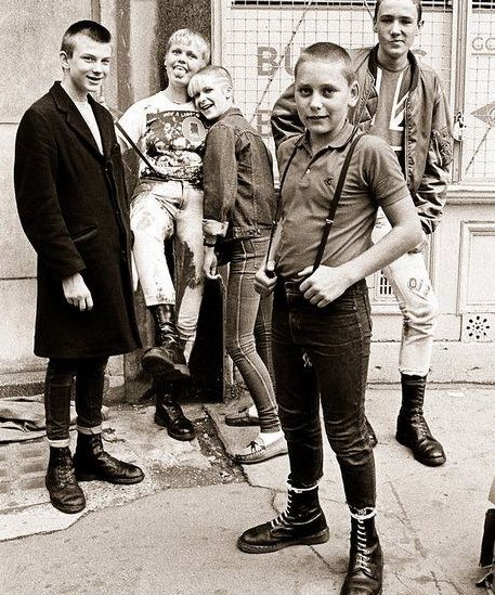 """punkpistol-seditionaries:  . YOUNG LONDON SKINS PunkPistol @ www.SEDITIONARIES.com .  """