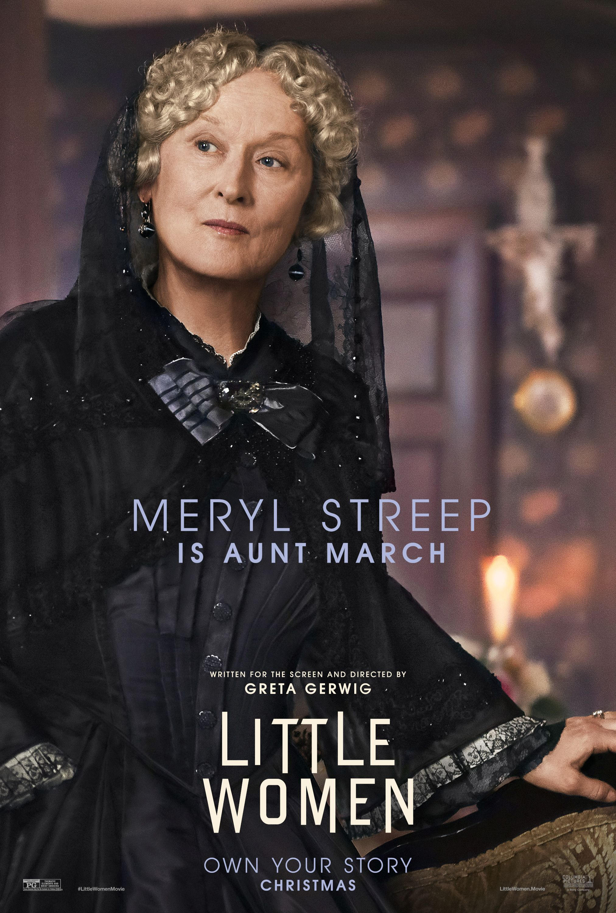 Little Women (2019) Movie Posters | Woman movie, Meryl streep ...