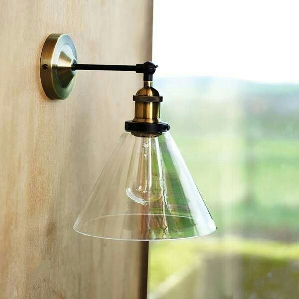 Wall mounted light | Lámparas de pared | Pinterest | Wall mount ...
