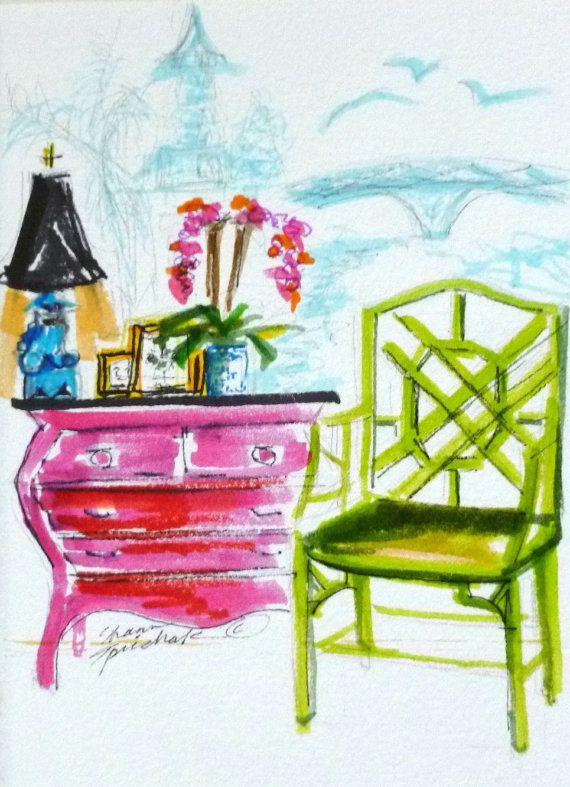 Boho Playroom Paintings Prints