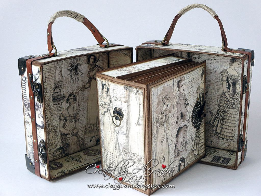 Suitcase With Drawers A Vintage Style Suitcase And Album With Drawer Kit Alexandra