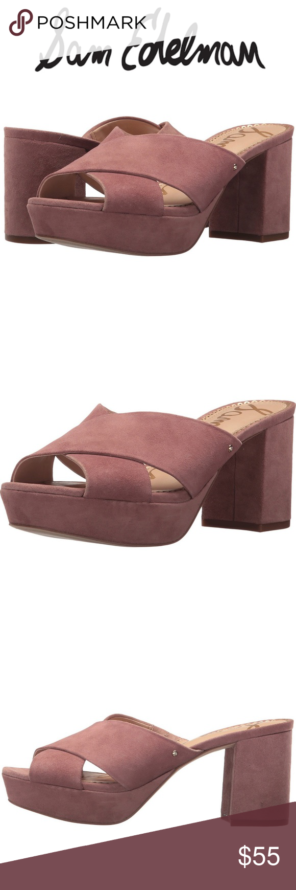 82055e047c3 NIB Sam Edelman Jayne Platform Mules Super cute wedge mules from Sam Edelman  that are sold
