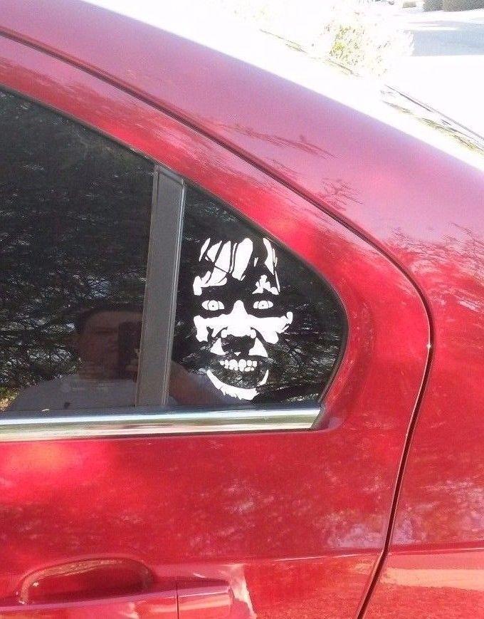 $5 5 - Exorcist Girl Vinyl Decal Sticker Horror Halloween