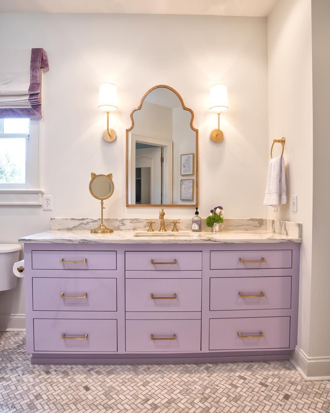 Bathroom, Bathroom Ideas, Girls Bathroom, Bathroom Vanity