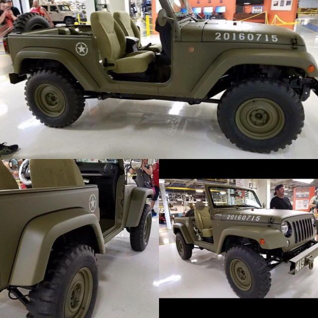 75th anniversary Jeep