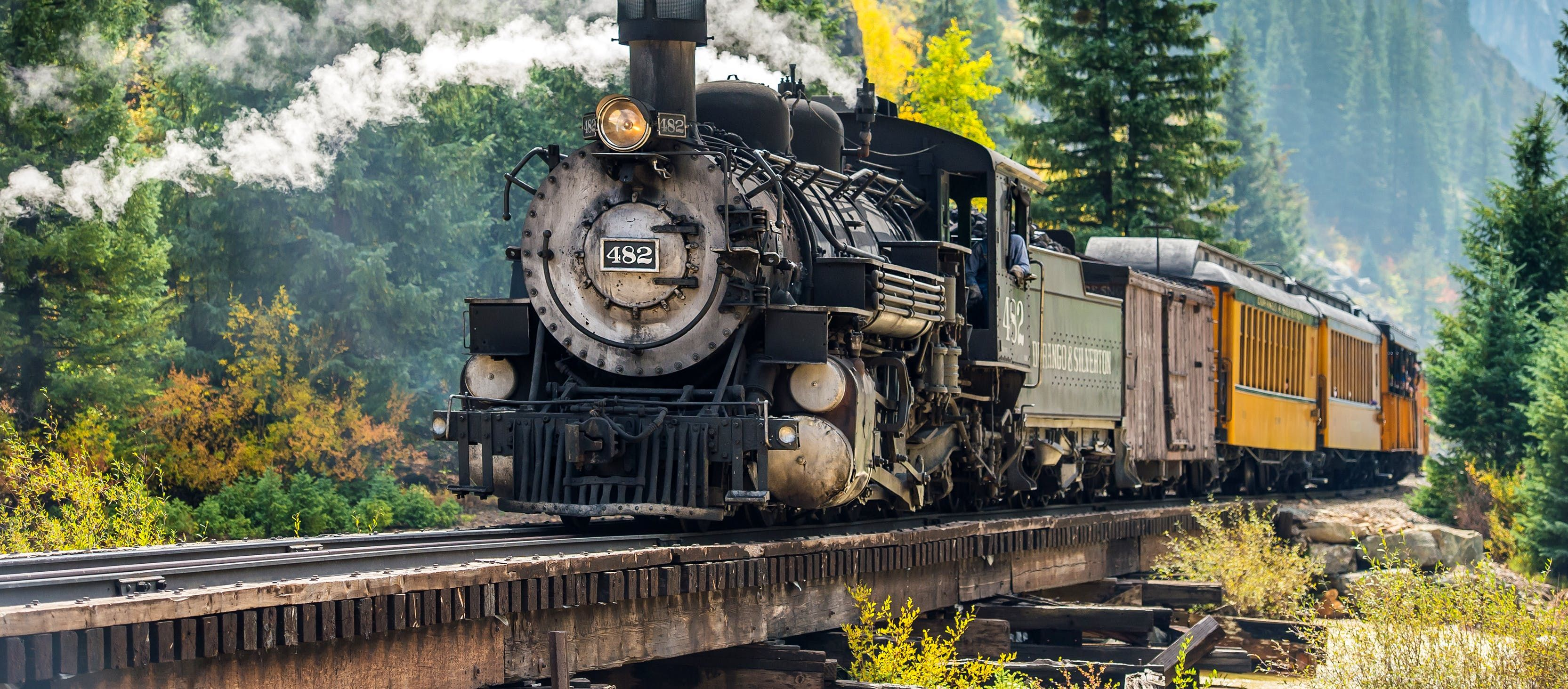 10 Of The Most Fantastic Train Trips In U S