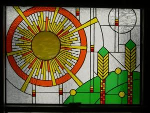 How to make a Stained Glass window insert : Get Up! and DIY