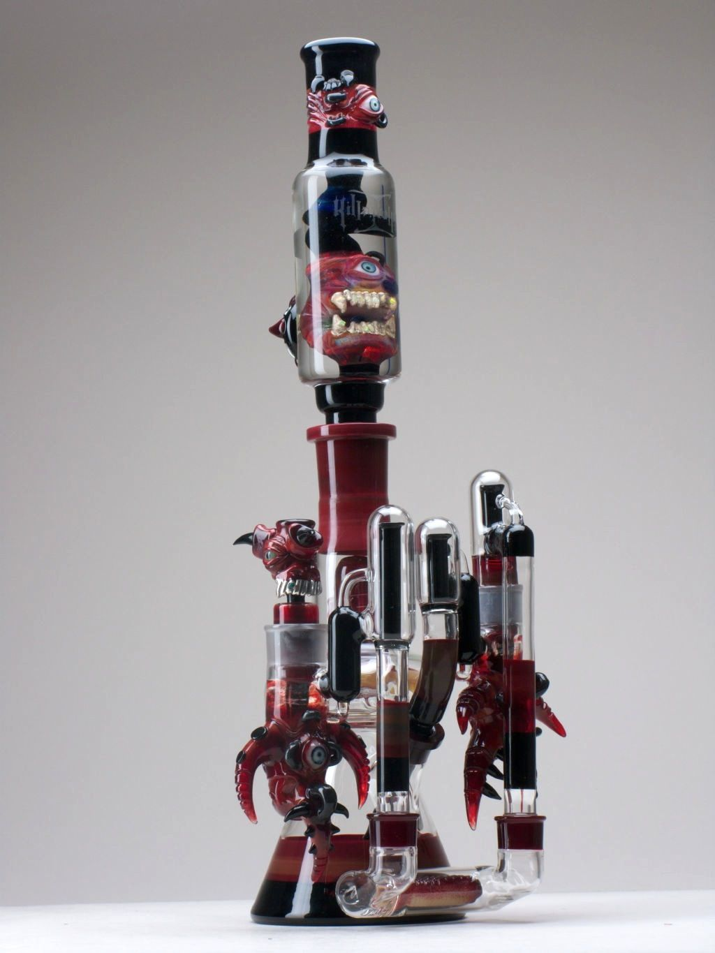 Illadelph/salt collab #2 | Red Glass Pipes | Pinterest ...