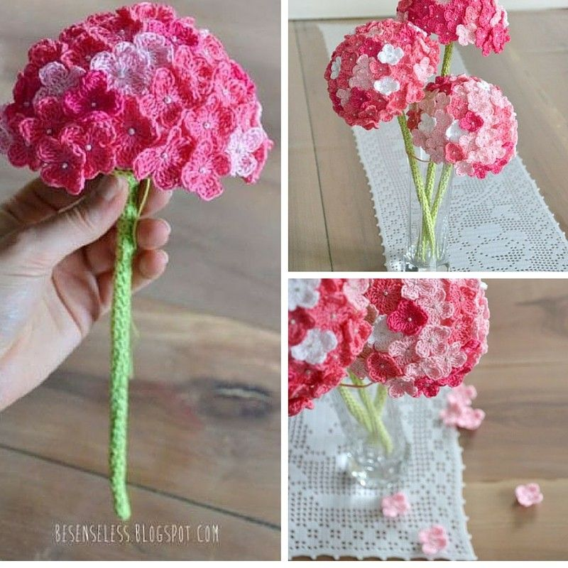 Use the basic of the video below to learn how to make a beautiful bouquet of lovely hydrangeas crochet flowers. It's really simple and you can create a beautiful bouquet on the budget, to decorate any room you want. Check out the original source for thispatternwith all the directions and full written pattern at: Cool …