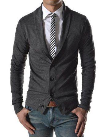 legere alternative der cardigan zur hemd schlips kombination styling jeans kombinationen. Black Bedroom Furniture Sets. Home Design Ideas
