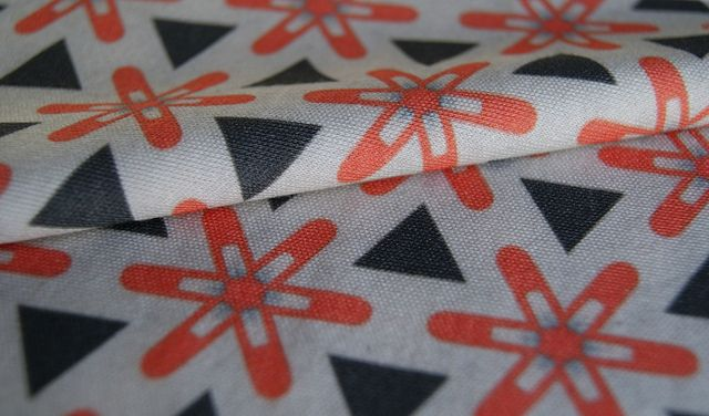 Retro fabric from Spoonflower