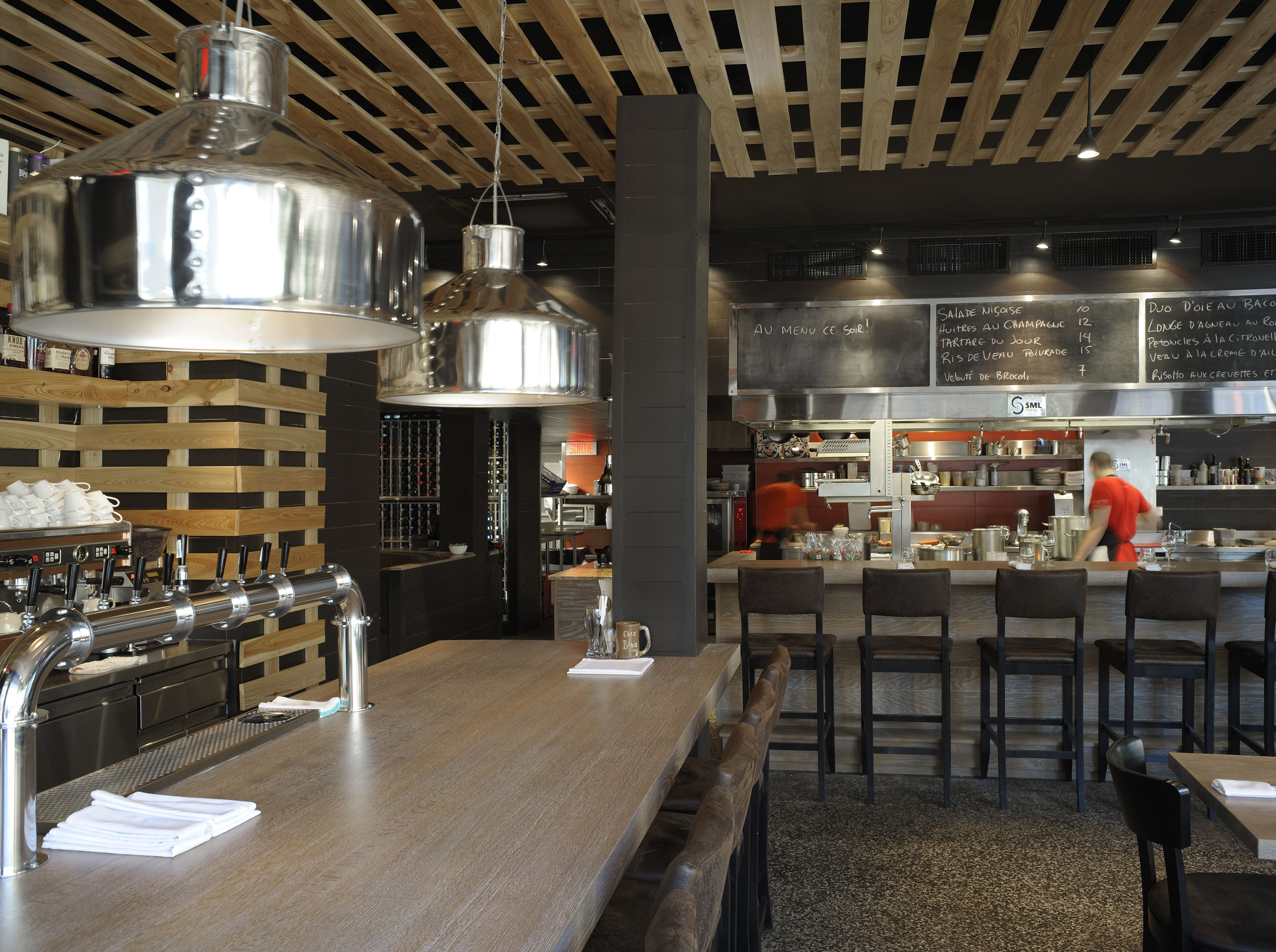 lemaymichaud | bistro b | architecture | design | hospitality