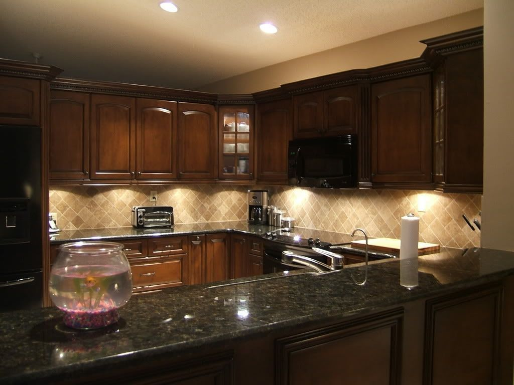 2019 Dark Granite Countertops with Light Cabinets ... on Dark Granite Countertops With Dark Cabinets  id=22642
